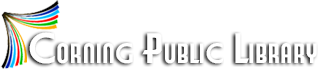 Corning County Public Library Logo